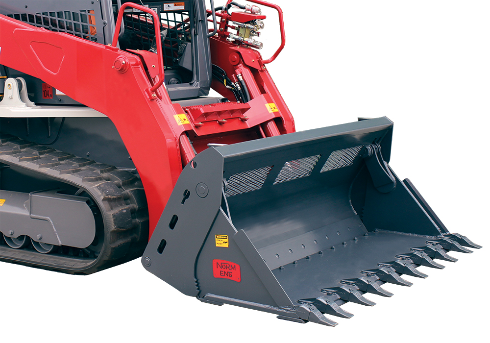 Loader Style 4-in-1 Bucket Attachments