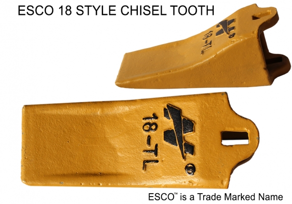 1.-Esco-Style-Chisel-tooth