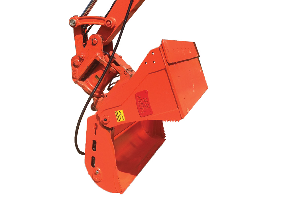 Excavator 4-in-1 Bucket Attachments