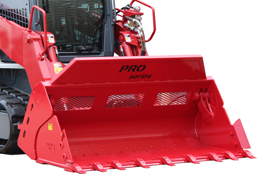LOADER STYLE 4-IN-1 PRO SERIES BUCKET ATTACHMENTS