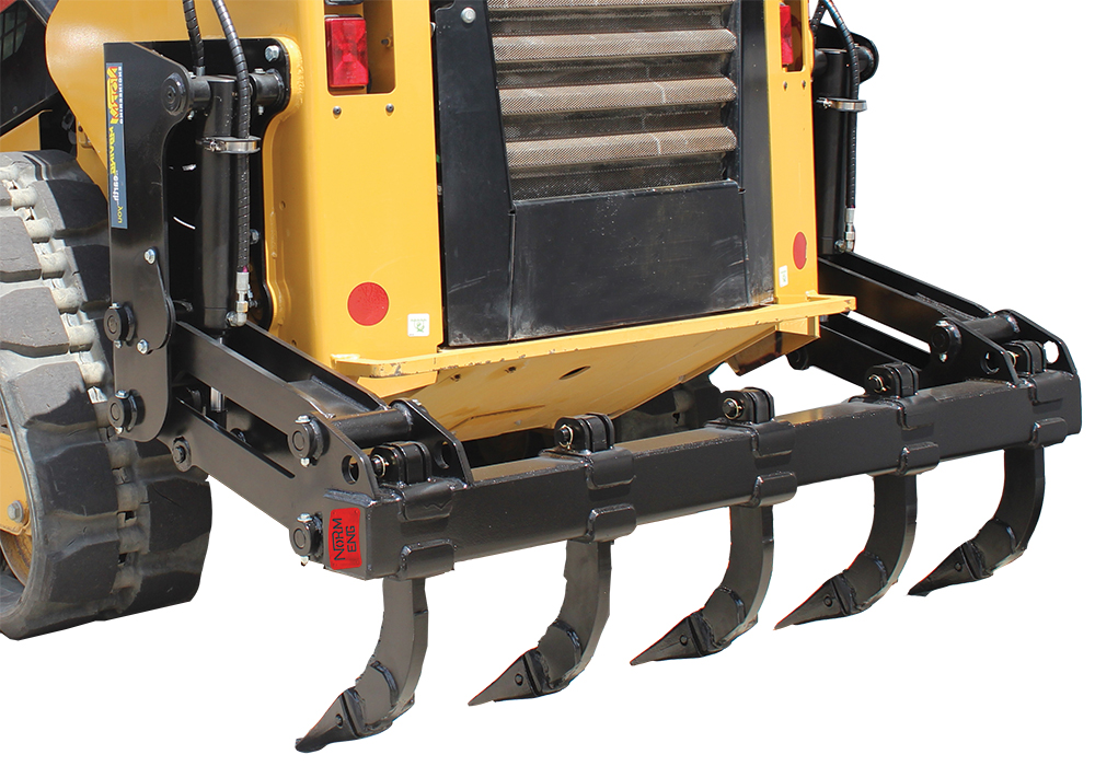 Skid Steer Rear Ripper Attachments