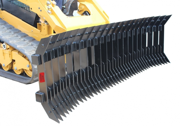 Stick Rake Rear Ripper Attachment For Skid Steer Tractor