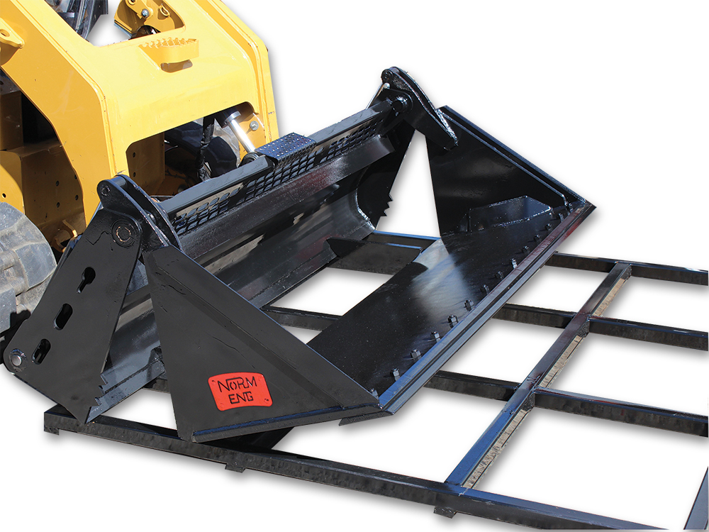Skid Steer Spreader Bar Attachments